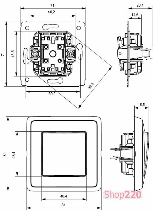Механизмы выключателей и