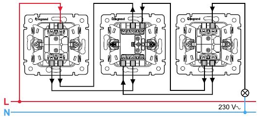 Схема подключения выключателя legrand схема механизмы схема включения.