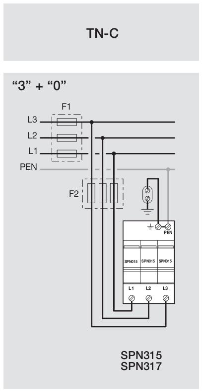 TN-C разрядник