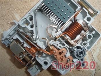 Автомат двухполюсный 50 А, уставка С, MC250A Hager - фото 14992
