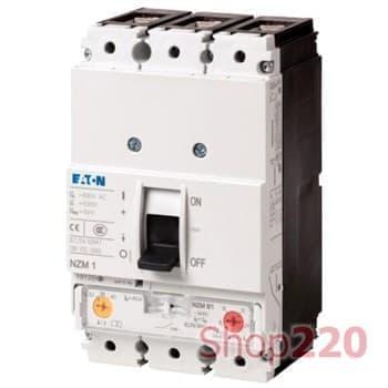 Силовой автоматический выключатель 63А, LZMC1-A63-I - фото 15365