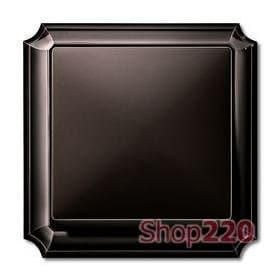 Выключатель 1-клавишный, коричневый, Merten Antik - фото 10319