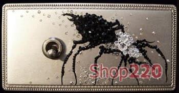 Рамка Exclusive латунь с кристалами Swarovski, в.3 - фото 10334