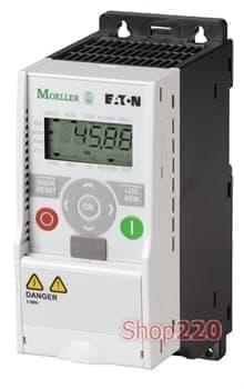 Преобразователь частоты 0,75 кВт трёхфазный 380В Moeller - фото 11077