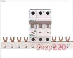 Соединительная шина 3пол., макс. ток 80А, Z-GV-16/3P-3TE Moeller Eaton - фото 11090