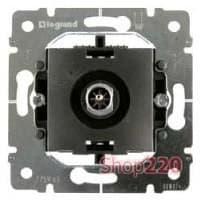 Механизм розетки TV простой, 2400 МГц, 1.5 дБ, Galea Life 775965 Legrand - фото 11408