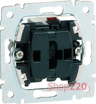 Механизм выключателя кнопочного 1-клавишный, Galea Life 775811 Legrand - фото 11417