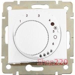 Термостат для теплых полов c накладкой со светодиодом, Galea Life 775858 Legrand - фото 11432