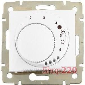 Термостат для теплых полов c накладкой со светодиодом, Galea Life 775688 Legrand - фото 11433