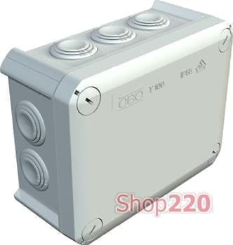 Распределительная коробка Т160 наружная 190х150х77 мм, ІР66, 2007093 OBO Bettermann - фото 11750