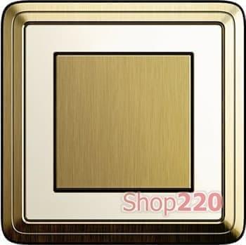 Выключатель бронза/кремовый - фото 11824