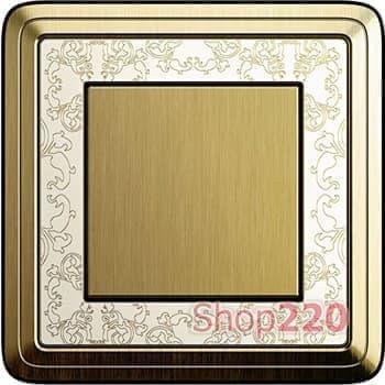 Выключатель бронза/кремовый - фото 11830