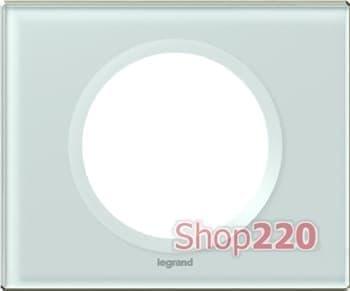 Рамка 1 пост, смальта белая глина, 69311 Legrand Celiane - фото 12934