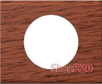 Рамка 1 пост, дерево орех, 69221 Legrand Celiane - фото 12956