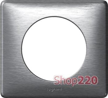 Рамка 1 пост, алюминий, 68921 Celiane Legrand - фото 13055