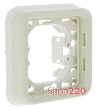 Рамка-суппорт одинарная, белый 69692 Legrand - фото 13443
