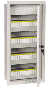 Щит металлический 48 модулей внутренний, ЩРв-48з-1 36 УХЛ3 IEK - фото 30322