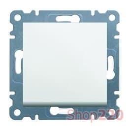 Кнопка, белый, Lumina-2 WL0110 Hager - фото 31699
