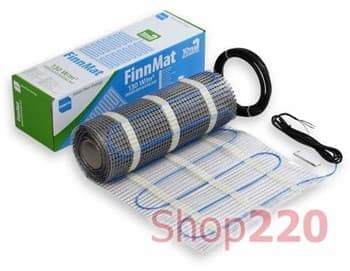 Мат нагревательный, 2,5м2, FinnMat EFHFM130.25 Ensto - фото 36282