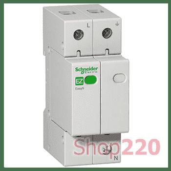Устройство защиты от импульсных перенапряжений 1Р+N, 20кА, 1,3кВ, EZ9 - фото 36321