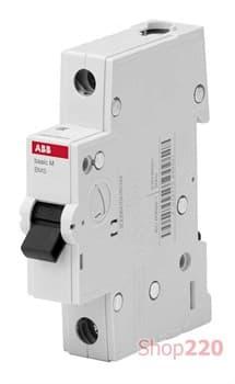 Автоматический выключатель 20А, 1 полюс, уставка C, ABB BMS411C20 - фото 42732