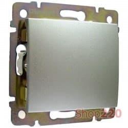 Выключатель проходной, алюминий, Legrand 770106 Valena - фото 45184