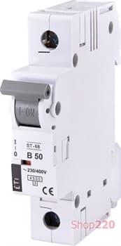 Автоматический выключатель 50А, 1 полюс, тип B, Eti 2171321