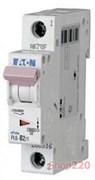 Автомат 2 А, однофазный, уставка С, PL6-C2/1 Moeller PL6