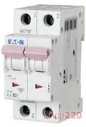 Автомат двухполюсный 40 А, тип С, PL6-C40/2 Moeller Eaton