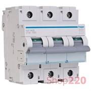 Автоматический выключатель 80 А, 3 полюса, С, HLF380S Hager