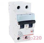 Автоматический выключатель 2-х полюсный 40 А, тип С, 404046 Legrand TX3