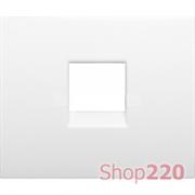 Панель для телефонной розетки, белый, 777095 Legrand Galea Life