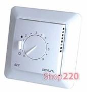 Терморегулятор Devireg 527 без датчиков, пропорциональное управление, 140F1041 Devi