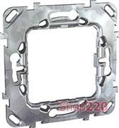 Суппорт металлический для механизмов Unica, MGU7.002 Schneider