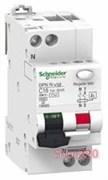 Дифференциальный автоматический выключатель Acti9, 6A, 30мА, A9D31606 Schneider