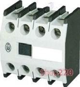 Вспомогательный контакт DILM150-XHI22 фронтальный, 2НО+2НЗ, Moeller