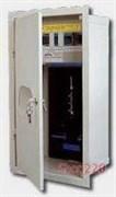 Щит электрический с местом под счетчик на 12 модулей, с замком и окном, встраиваемый, RL-1F12zsz Sabaj