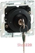 Механизм выключателя с ключом для рольставней, Galea Life 775854 Legrand