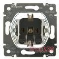 Механизм розетки с заземлением (2К+З) с самозажимными клеммами, Galea Life 775920 Legrand