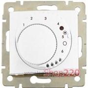 Термостат для теплых полов c накладкой со светодиодом, Galea Life 775858 Legrand