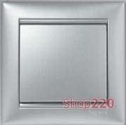 Механизм заглушки, алюминий, Legrand 770146 Valena