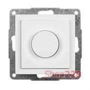 Механизм светорегулятора нажимного 75-800 Вт, белый, Fiorena