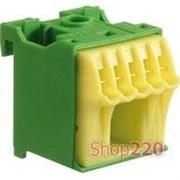 Блок дополнительных PE-клемм 1x16 mm2 + 5x4 mm2, KN06E Hager