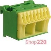 Блок дополнительных PE-клемм 2x16 mm2 + 8x4 mm2, KN10E Hager