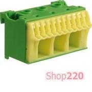 Блок дополнительных PE-клемм 3x16 mm2 + 11x4 mm2, KN14E Hager