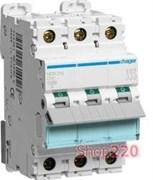 Автоматический выключатель 40А, тип D, 3 фазы, NDN340 Hager