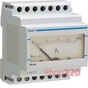 Амперметр на дин рейку, SM600 Hager
