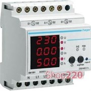 SM001 Hager Мультиметр цифровой