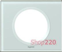 Рамка 1 пост, смальта белая глина, 69311 Legrand Celiane
