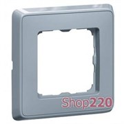 Рамка 1 пост, жемчужно-серый, 773691 Legrand Cariva